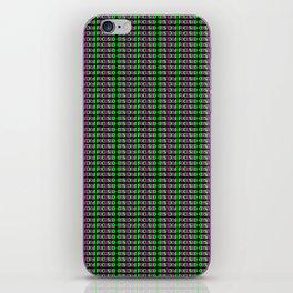 FOCUSED Pattern iPhone Skin