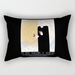La Petite Fille aux Allumettes Rectangular Pillow