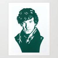 benedict Art Prints featuring Benedict by iankingart