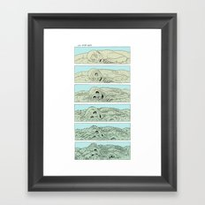 life after death Framed Art Print