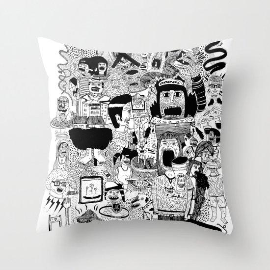 KIDS DOOM Throw Pillow