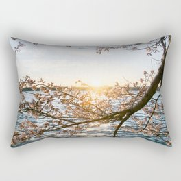 Sun Over the Horizon Rectangular Pillow