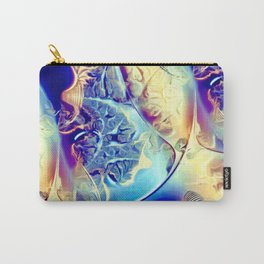 Etched Glass Abstract Carry-All Pouch