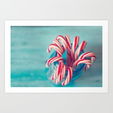 Aqua Holidays, Christmas Photography Art Print