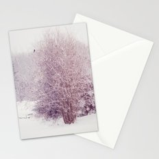 winter's snow Stationery Cards
