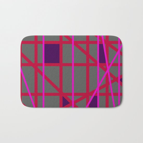 Abstract RF Bath Mat