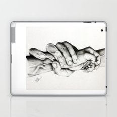 The Saving Hands Laptop & iPad Skin