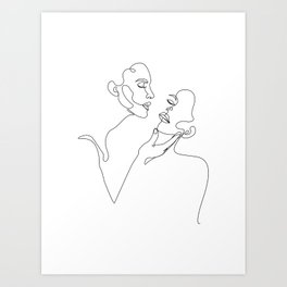 couple b Art Print