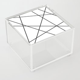 Lines in Chaos II - White Acrylic Box