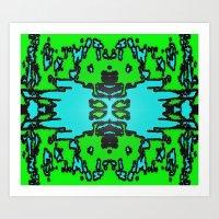infinite Art Prints featuring Infinite by Phinilez