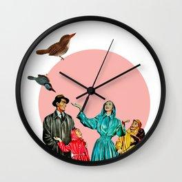 happy family Wall Clock