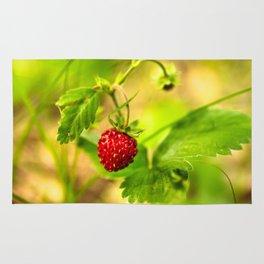 Wild strawberry Rug