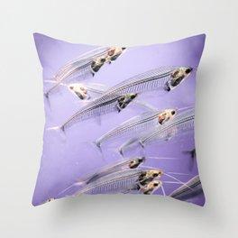 Phantom Catfish Throw Pillow