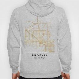 PHOENIX ARIZONA CITY STREET MAP ART Hoody