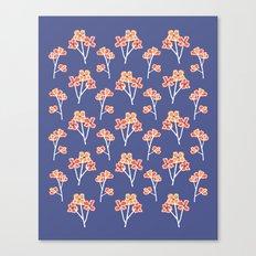 anemone flowers :: lavender Canvas Print
