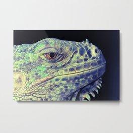 lizart dragon head Metal Print
