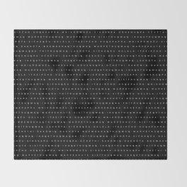Oceti Sakowin - Dakota - Lakota (black) Throw Blanket
