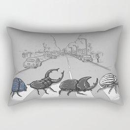 The Beetles Rectangular Pillow