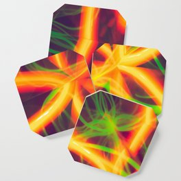 Abstract lines Coaster