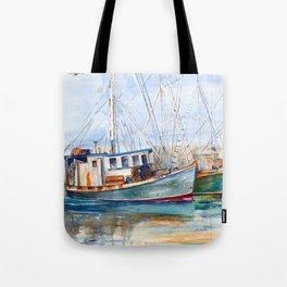 Fishing Boats (Namaste) Tote Bag
