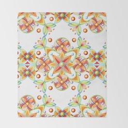 Suzani Moderne Stripe Throw Blanket