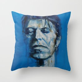 There`s A Starman Waiting in the Sky Throw Pillow