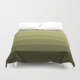 Jade Olive Green - Color Therapy Duvet Cover