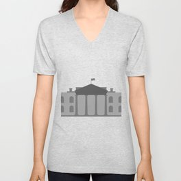 White House Unisex V-Neck