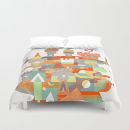Structura 8 Duvet Cover