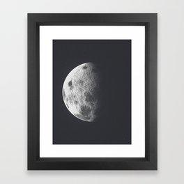 Moon Poster Framed Art Print