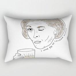 I love all my children equally. Rectangular Pillow