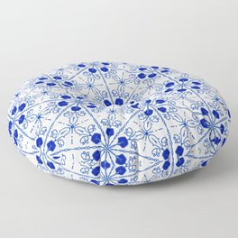 Delft Pattern 2 Floor Pillow