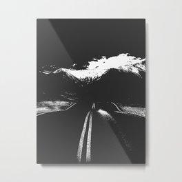 One Road Metal Print