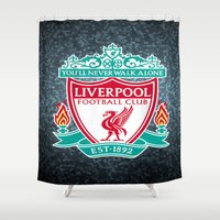 liverpool Shower Curtains featuring LIVERPOOL by Acus