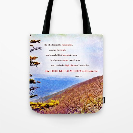 High Places Tote Bag