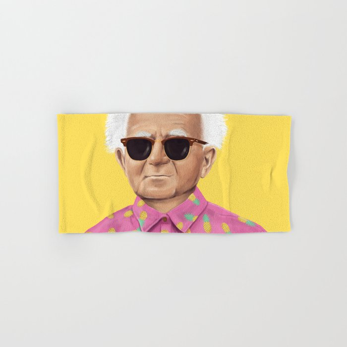 The Israeli Hipster leaders - David Ben Gurion Hand & Bath Towel