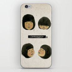 I love just the way you are. iPhone & iPod Skin