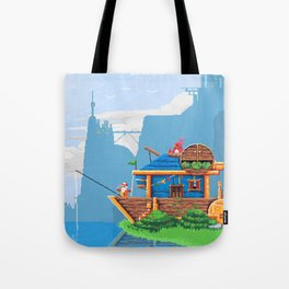 The Grounded Airship Tote Bag