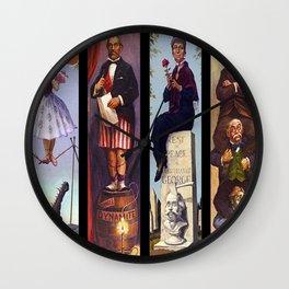 haunted mansion Wall Clock