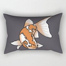Single koi Rectangular Pillow