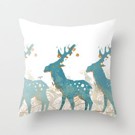 olen' Throw Pillow
