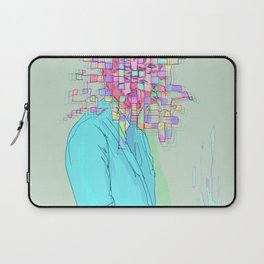 Psychedelic face Laptop Sleeve