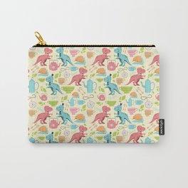 Tea Rex seamless pattern Carry-All Pouch