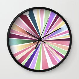 70ies flower No. 1 Wall Clock