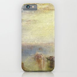 Joseph Mallord William Turner - Approach to Venice iPhone Case