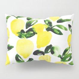 Summer Lemons Pillow Sham