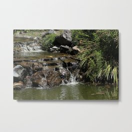 Small Waterfall in Quito Metal Print