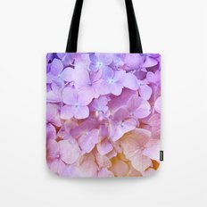Multicolor beautiful Hydrangea petals - Flowers - Buds - Blossoms Tote Bag