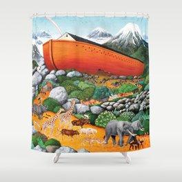 A New Beginning (Noah's Ark) Shower Curtain