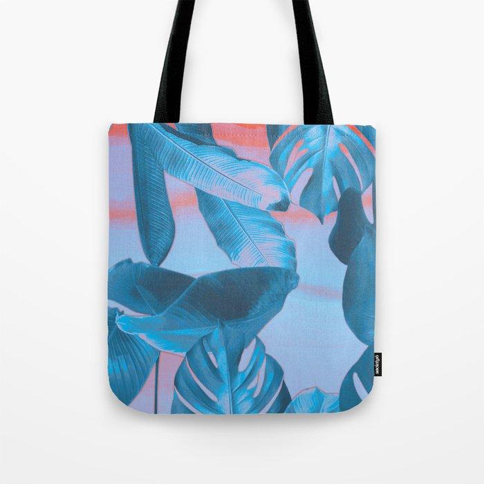 Electric blue botanics (everyday 8/365) Tote Bag